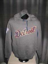 MLB Detroit Tigers Grand Slam Hoody Hooded Sweatshirt Medium Nwt Majestic