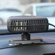 12V Portable Ceramic Car Fan Ceramic Heater Heating Fan Car Demister Defroster