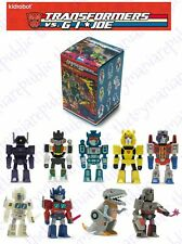 Set of 9 - Kidrobot Transformers vs GI Joe Mini Series Figure - Set Transformers