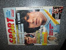 INTREPIDO SPORT 27 1985 MADONNA MARADONA + POSTER: Springstein / Ferrari