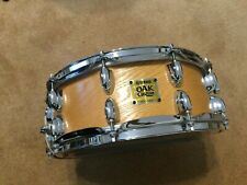Superb Yamaha Oak Custom Snare in excellent condition. Very light use FAB sound.