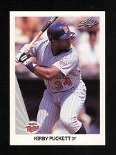 Leaf Kirby Puckett Baseball Cards For Sale Ebay