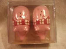 Pink Picnic Pigs Salt & Pepper Shakers