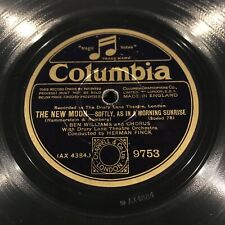 """LOVER COME BACK TO ME/ONE KISS """"THE NEW MOON"""" [78RPM] COLUMBIA 9751 (EX- COND)"""
