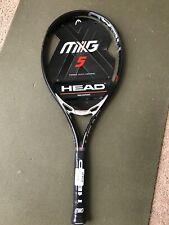 """Head Graphene Mxg 5 Tennis Racquet Grip 4 1/4"""" New."""