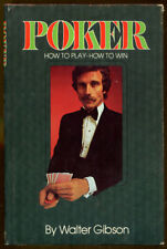 Poker: How to Play-How to Win by Walter Gibson-HC/DJ-1974