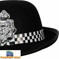 WPC Cops & Robbers Police Woman Hat Adults Ladies Womens Fancy Dress