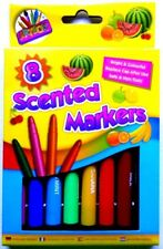 8 Scented Markers Scented Felt Tip Pens Smell Pens Fruit Smelly Pens Fragrance