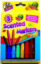 8 Scented Markers Scented Felt Tip Pens Smell Pens Fruit Smelly Pens Fragrance