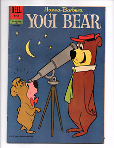 Yogi Bear #9 (Jul-Sep 1962, Dell) - Good/Very Good