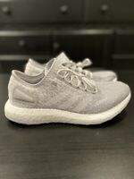Men's Adidas Reigning Champs Pure Boost Grey White Running Shoes Size 8 CG5330