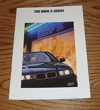 Original 1992 BMW 3-Series Sales Brochure 92 325i 318i