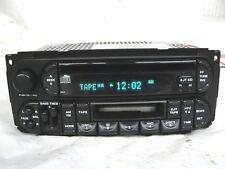 Dodge Chrysler Jeep radio CD cassette RAZ 02-07 P05064300 Caravan Durango Ram