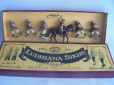 BRITAINS  00135 BRITISH ARMY IN INDIA QUEENS OWN CORPS Soldiers (Wrong Box)