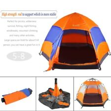 OUTAD Waterproof 5-8 Person Camping Tent Automatic Pop Up Quick Shelter Outdoor