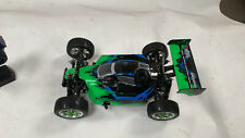 Exceed RC 1/8 Nitro Gas .21 Engine RC RTR Off Road Racing Buggy Gama Green-USED