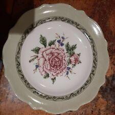 "Princess House Exclusive Hydrangea ,PEONY, LILACGarden 9"" Salad/Dessert Plates"