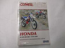 Neu Honda 1979-1990 XL500 XR500 XL600 XR600 Reparatur Handbuch