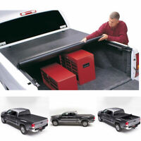 Blk Soft Vinyl Roll-Up Tonneau Cover Assembly Fit 04-14 Colorado//Canyon 5/' Bed