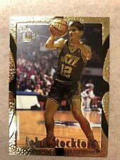 1995 TOPPS GOLD EMBOSSED JOHN STOCKTON VERY GOOD #97