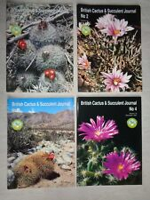 British Cactus and Succulent Journal 1997 - Complete 4-edition run