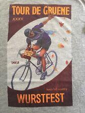 Tour De Gruene Wurstfest Texas Hill Country Bike Cycling T-shirt Xx-Large (P2)