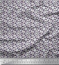 Soimoi Fabric Floral Shirting Decor Fabric Printed BTY - SG-109A