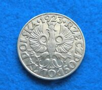 1923 Poland 50 Groszy - Fantastic Coin - See Pictures