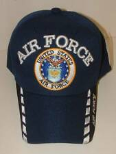 Air Force Old Style Logo Embroidered 3D Runway Lights Discontinued Ball Cap.