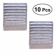 10 Pcs Food Aluminum Foil Insulated Storage Bag Reusable Sandwich Bags for Snack