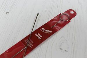 Sewing Hook Loop Turner Rouleau with Latch Hook
