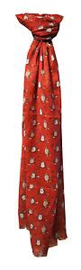 Red Owl Scarf Design from Peony BNWT 180cm x 70cm