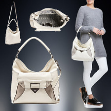 MIMCO MAGNITUDE  HOBO BAG ALABASTER + CrossBody Strap & D'bag RRP $550 SALE $349