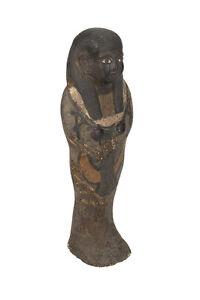 "Antique Egyptian 10"" carved Stone Pharaoh Figurine"