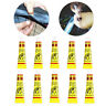 5Pcs Bike Bicycle Tire Tube Patch Glue Rubber Cement Puncture Repair Tools