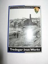 NPS National Park Service Trading Cards Richmond Battlefield Tredegar Iron Works