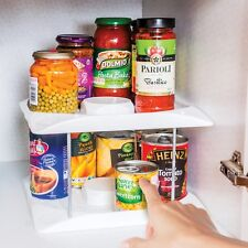 Kitchen Cupboard Food Storage Organiser Tin Can Tidy Wallunit see it on Youtube!