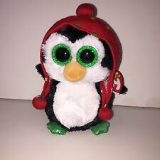 "TY FREEZE PENGUIN 6"" BEANIE BOOS-NEW, MINT TAG ** SUPER CUTE**IN HAND**SHIP NOW"