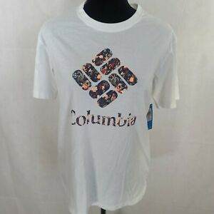 Colombia Womens White T-Shirt Size S/P WS-892