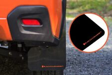 RALLY ARMOR UR BLACK MUD FLAPS w/ORANGE LOGO FOR 2013-2017 SUBARU XV CROSSTREK