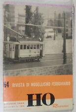 RIVISTA DI MODELLISMO FERROVIARIO RIVAROSSI HO N 64 Ottobre 1964 Treni Ferrovia