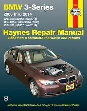 BMW 3 Series for 06-2014 Haynes Repair Manual NEW shop book service Owners