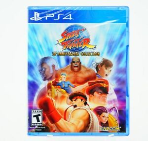Street Fighter 30th Anniversary Collection: Playstation 4 [Brand New] PS4