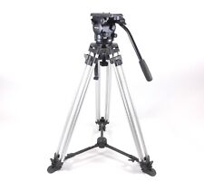 Miller Arrow 25 Head & Aluminum Legs Tripod 100mm Mid Level 1769