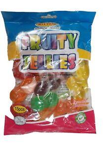 Full Bag Fruit Jelly Candy Tik Tok Jellies Challenge Sweets Pop 15pcs Tiktok FUN