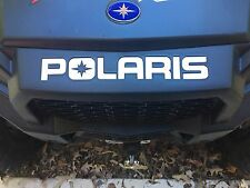 Polaris RZR 1000 Front Rear bumper decal inserts xp 2013 2014 2015 2016 2017
