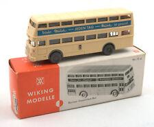 Wiking HO 1:87 Berliner Doppeldeck Bus Nr.72d 1970s *BOXED* (4)