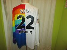 VfL Bochum Original Langarm Matchworn Trikot 97/98 + Nr.22 Reis + Signiert Gr.XL