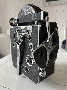 Paillard Bolex H-8 8mm Non-Reflex Cine Movie Camera