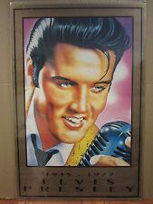 Vintage Elvis Presley 1935-1977 1992 stamp poster 3496